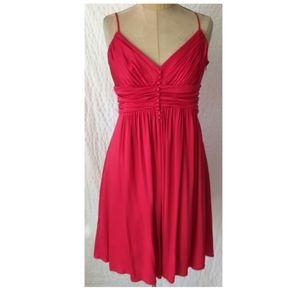 BCBG Vintage Look Red Dress